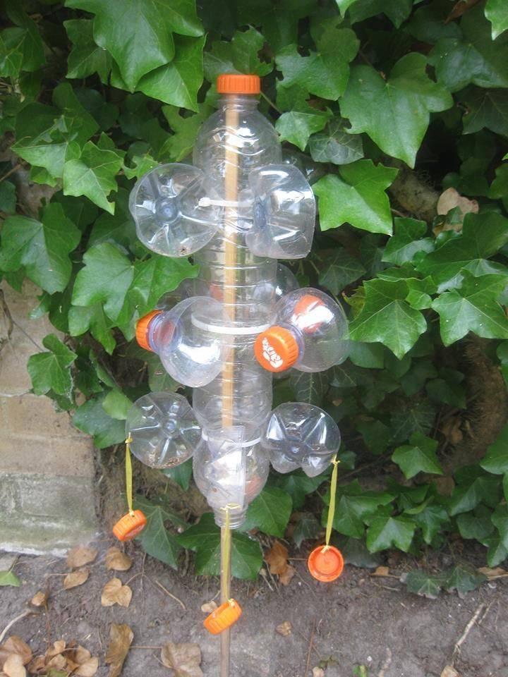 Поделки из пластиковых бутылок для дачи и сада - огород, сад, балкон - медиаплатформа миртесен