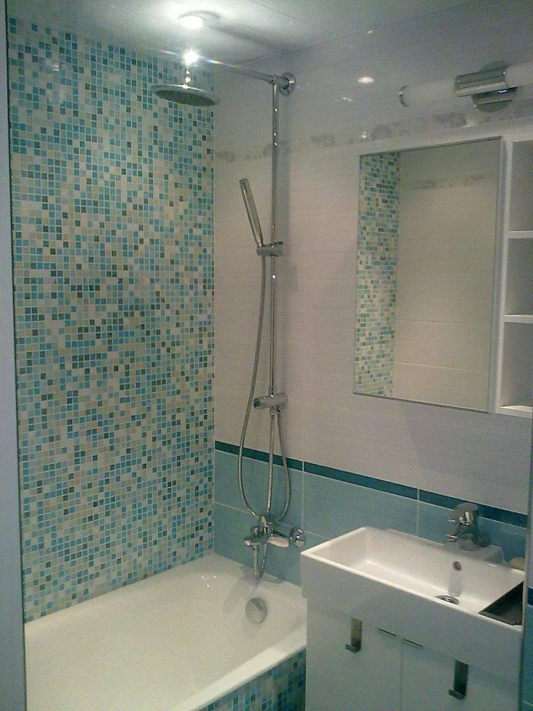 Бюджетный и современный ремонт малогабаритной ванной комнаты своими руками