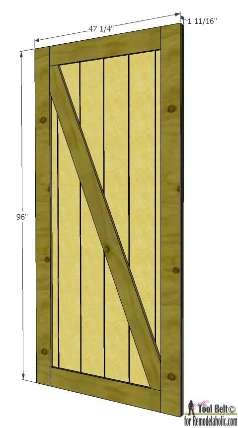 Как сделать дверь из досок своими руками: 7 этапов