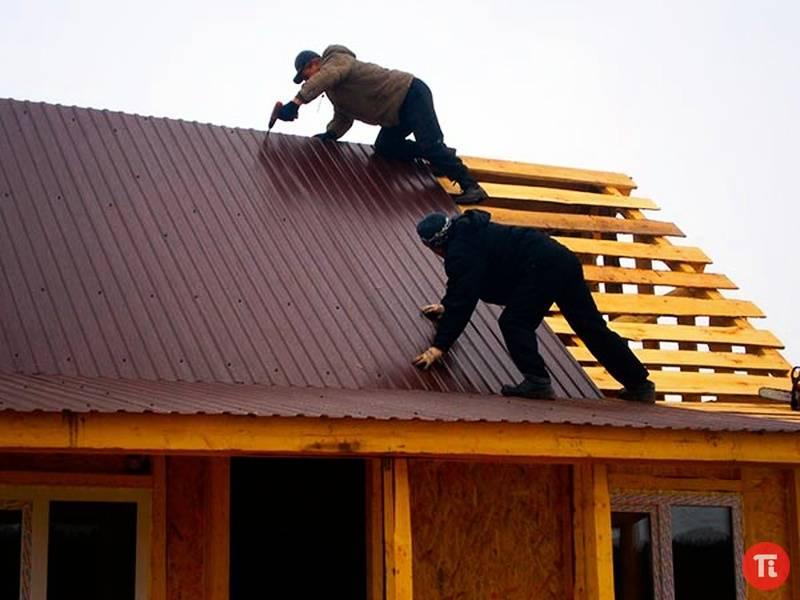Черный материал для крыши. чем лучше покрыть крышу дома? выбираем правильный материал