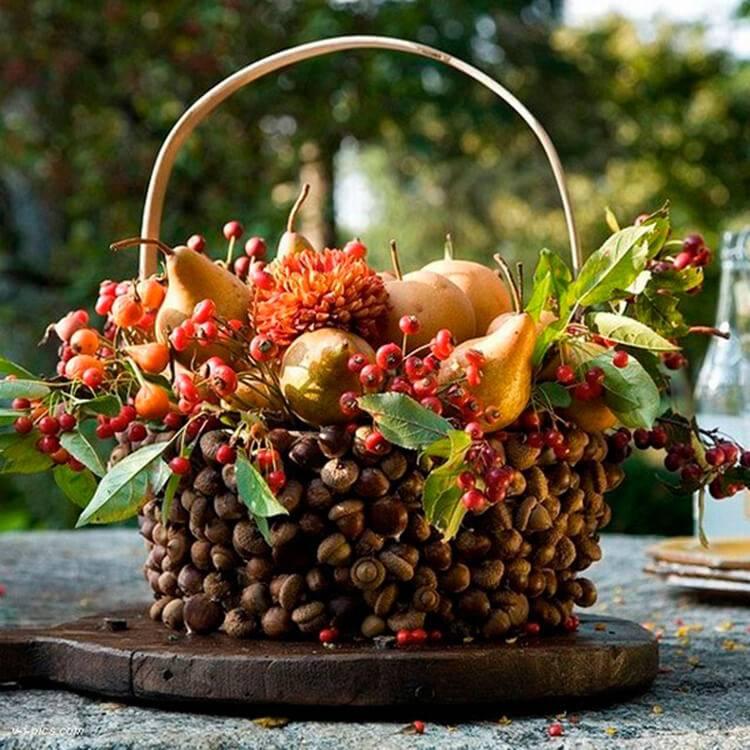 Осенний букет своими руками для детского сада