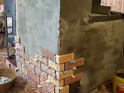 Облицовка печи керамической плиткой своими руками - два различных способа