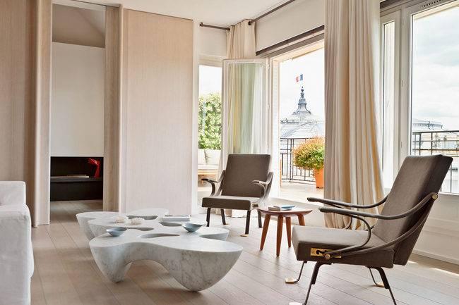 Парижский дуплекс: апартаменты в индустриальном стиле с предметами скандинавского дизайна | houzz россия