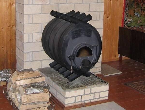 Печь булерьян для отопления бань и дач