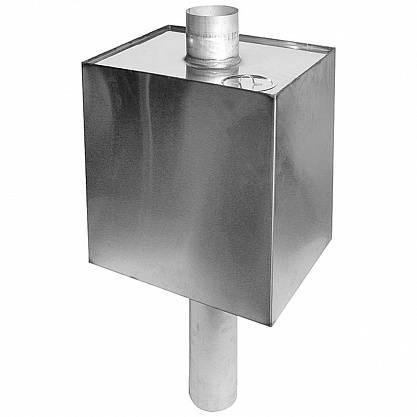 Как самостоятельно установить бак для воды на печной трубе в бане