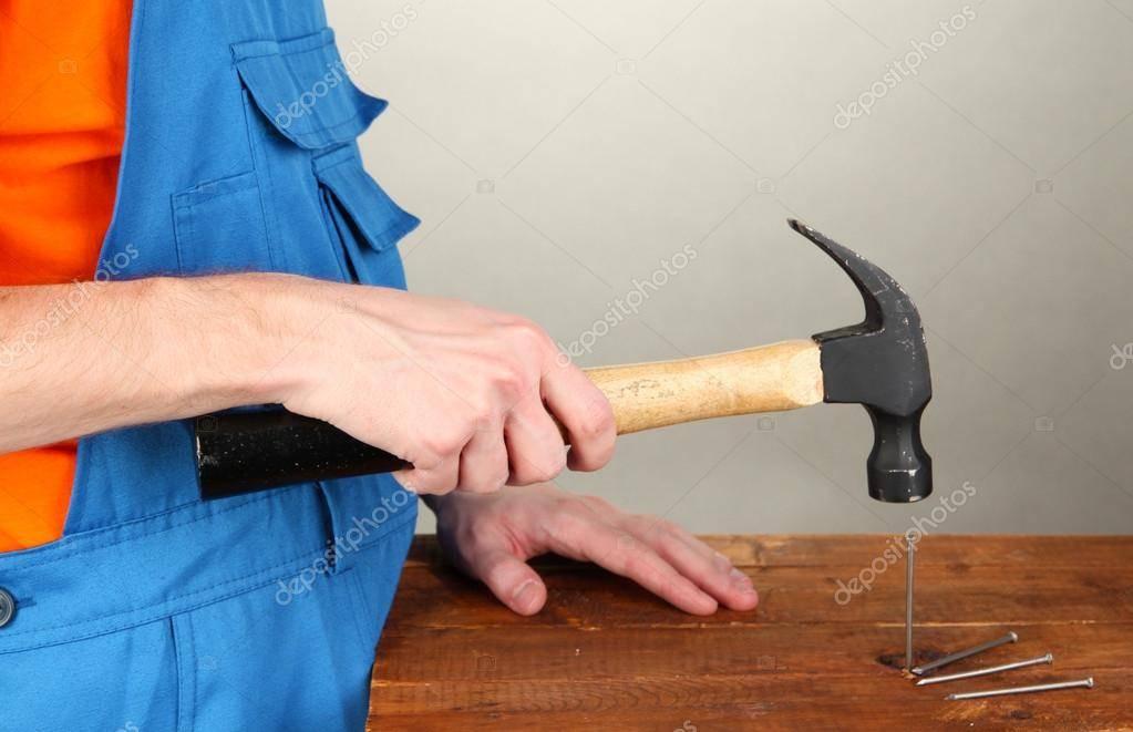 Как безопасно и аккуратно забить гвоздь в разных местах   дизайн и ремонт квартир своими руками