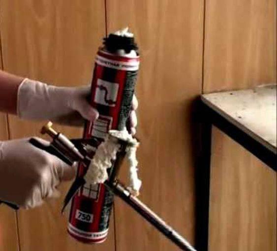 Как почистить пистолет для монтажной пены? как очистить, если она засохла, способы промывки, чем лучше промывать