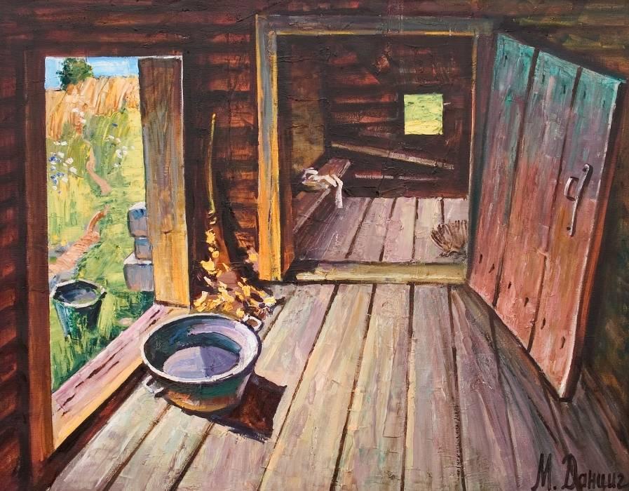 Баня в живописи русских художников