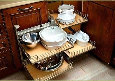 14 лайфхаков по экономии места на кухне своими руками