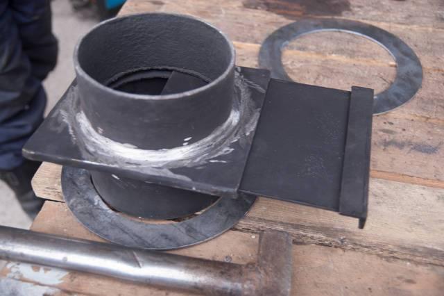 Шибер для дымохода своими руками: игзотовление и монтаж заслонки