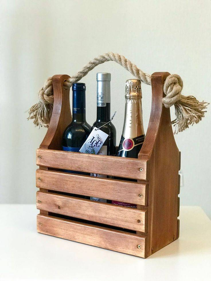 Ящик для вина своими руками