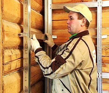 Отделка стен гвл в деревянном доме - всё о гипсокартоне