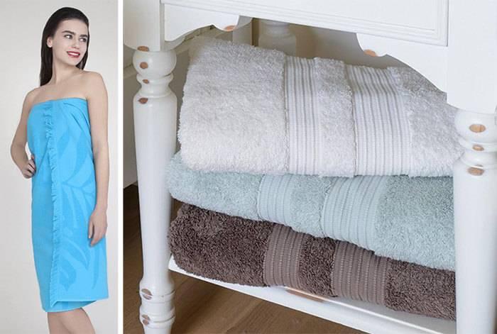Как сшить полотенце для бани на липучке?