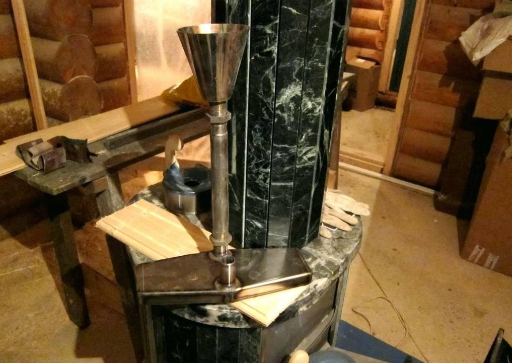 Паровая пушка: делаем парогенератор для бани своими руками