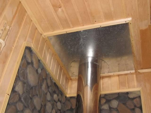 Чем изолировать стену от печи в бане? защитный экран своими руками