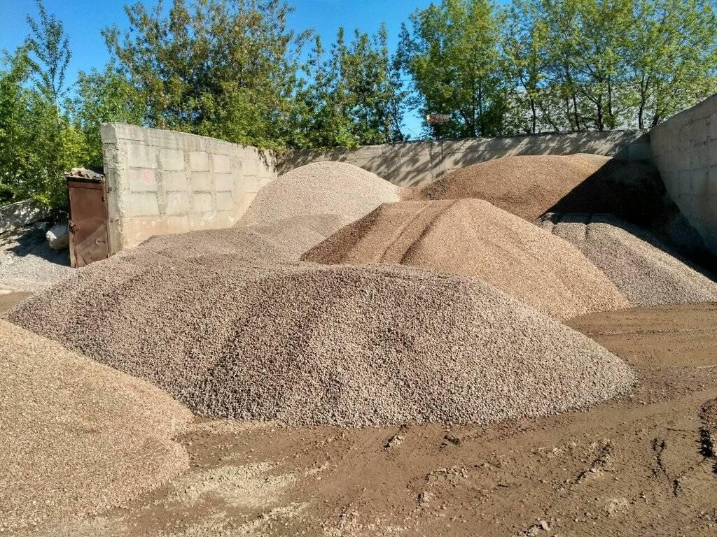 Песчано-гравийная смесь: особенности и сфера применения