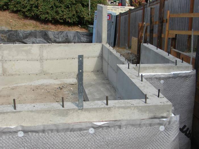 Какой бетон нужен для фундамента бани: выбор марки
