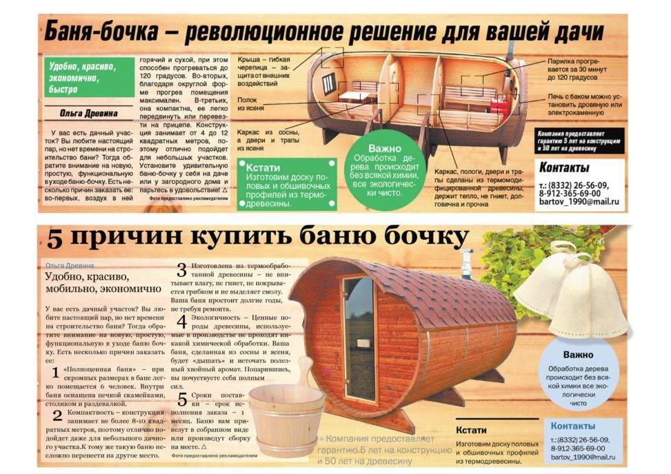 Баня-бочка (83 фото): сборка сауны своими руками, преимущества и недостатки круглых конструкций, отзывы владельцев и реальных покупателей