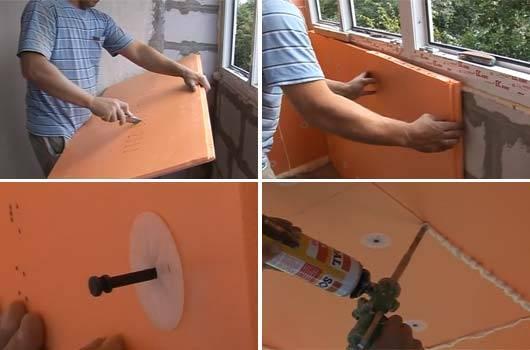 Как правильно крепить пеноплекс к бетону: обзор методов и материалов для крепления листов пеноплекса на стену из бетона