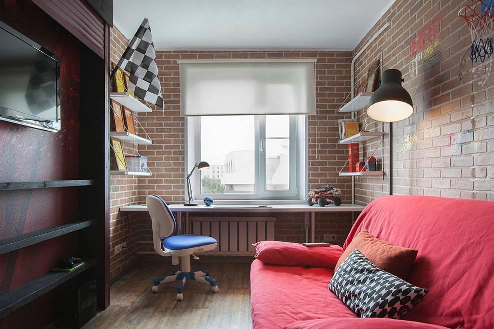 Комната для девушки или девочки-подростка в стиле лофт: примеры для взрослых и девочек, фото удачных дизайнов интерьера, особенности детских спален, зонирование