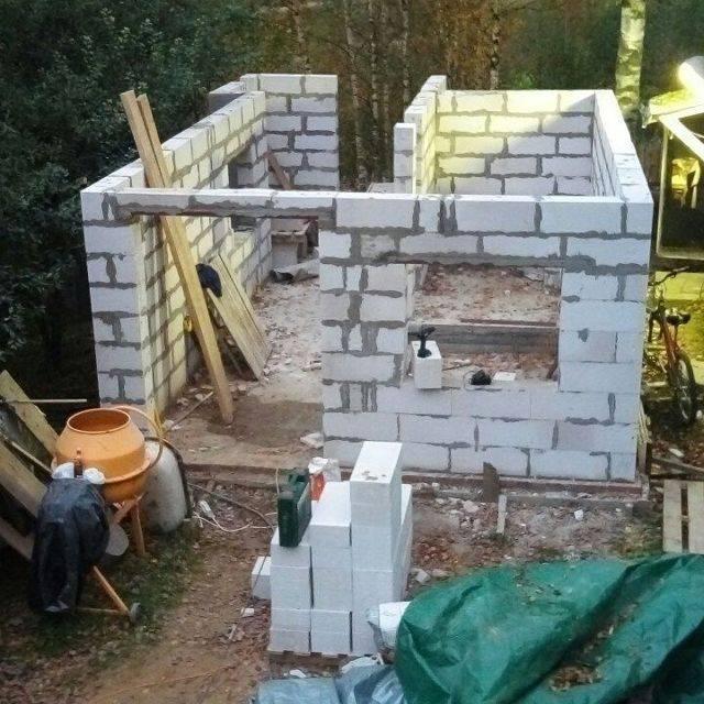 Бани из газосиликатных блоков: строительство, утепление, отделка