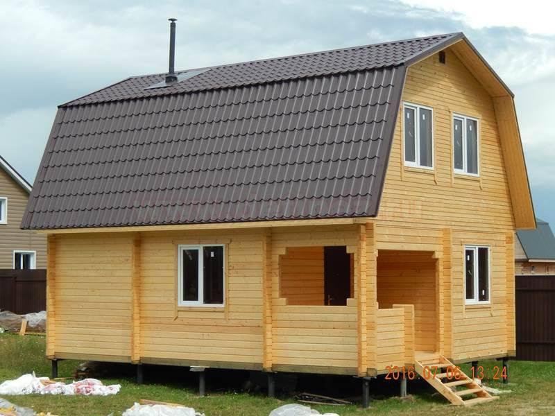 Как строится баня из бруса с мансардой? — expertbrusa.ru