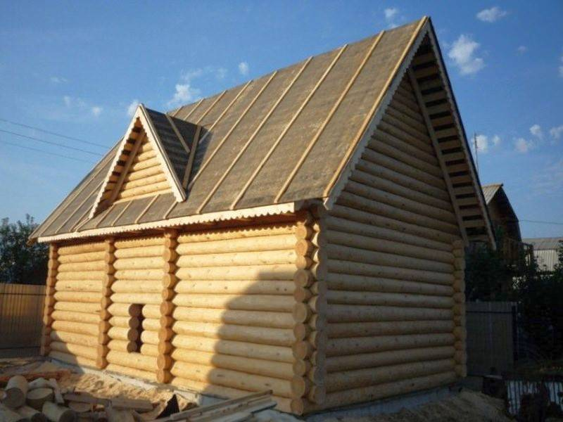 Крыша бани своими руками: пошаговые инструкции по возведению и утеплению