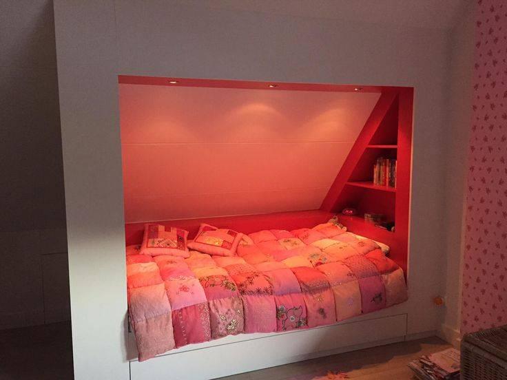 Кровать в нише: 50+ фото, идеи для спальни, студии, однокомнатной квартиры