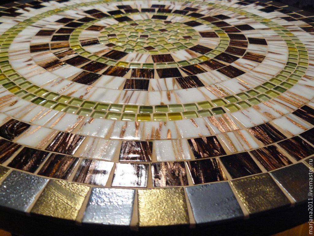 Столешница из мозаики (32 фото): как сделать своими руками