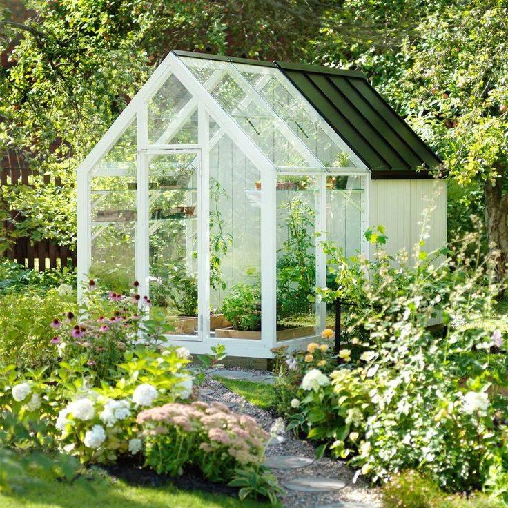 Солнечный дом: теплица может быть красивой