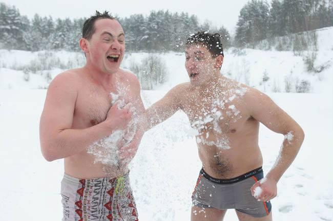 Баня зимой —  польза для здоровья