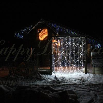 Идеи декора дома на новый год