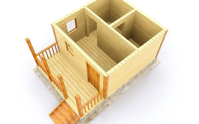 Планы бани 3х3: мойка и парилка отдельно и вместе, фото