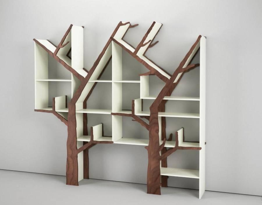 Книжный шкаф - незаменимый атрибут для современного интерьера!