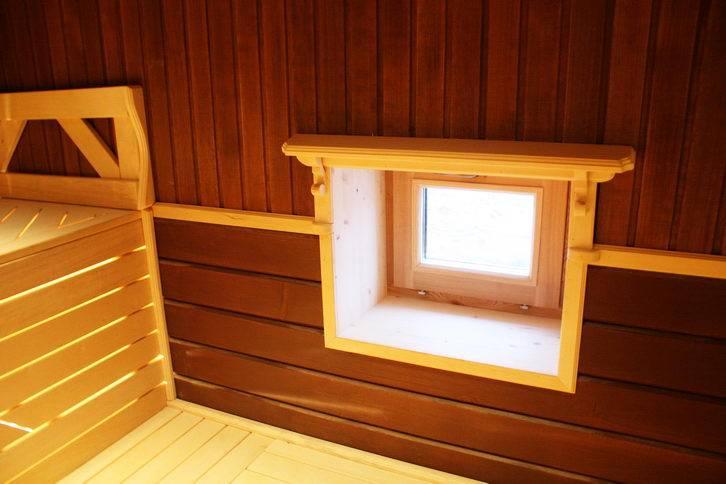 Установка деревянных окон в бане своими руками |