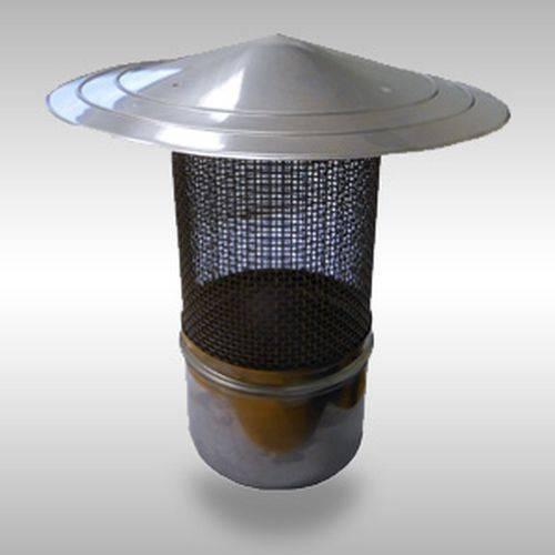 Искрогаситель на трубу бани своими руками, почему дымит печь, как сделать защитный экран