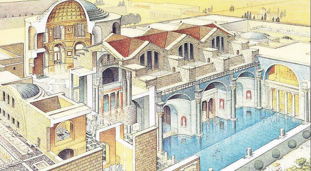 Дизайн мебели в древнем риме