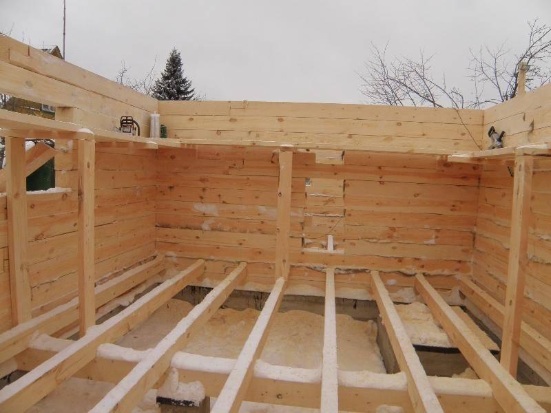 Особенности строительства бани из профилированного бруса