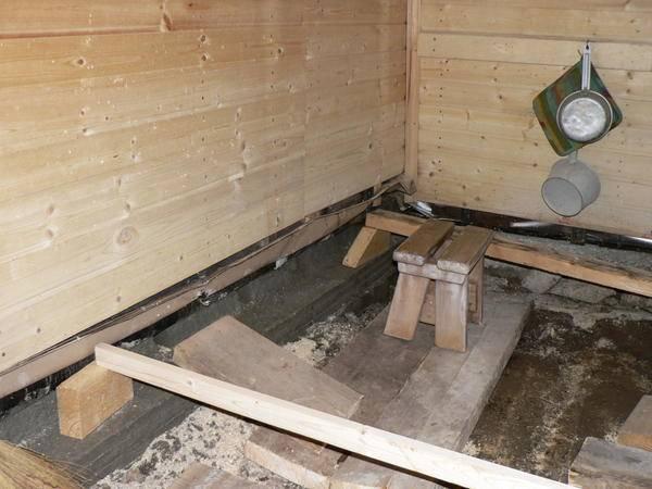 Проливной пол в бане: методика и практические рекомендации | дизайн интерьера