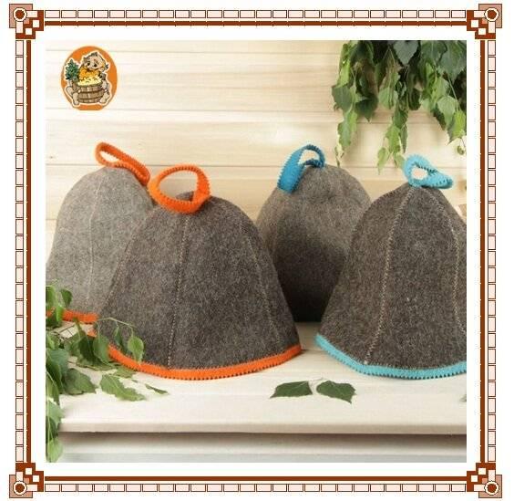 Банная шапка – важный атрибут в парилке