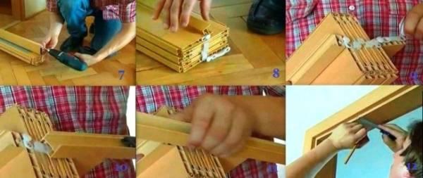 Как установить дверь-гармошку: пошаговая инструкция