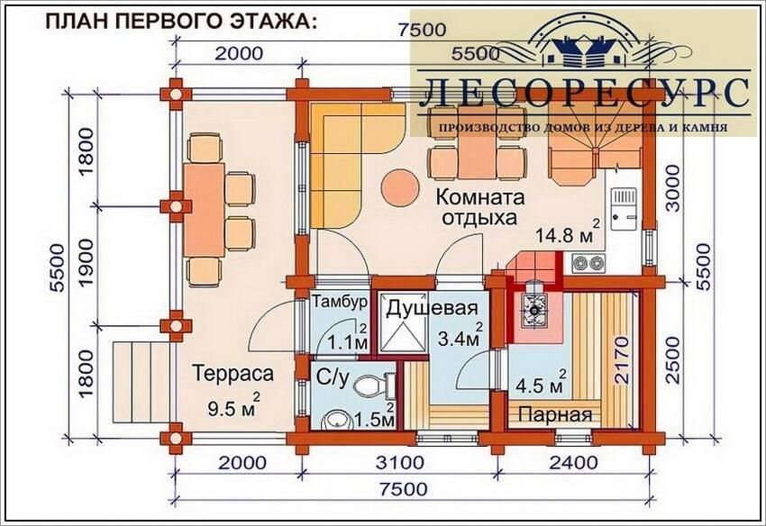 Как построить второй этаж над баней