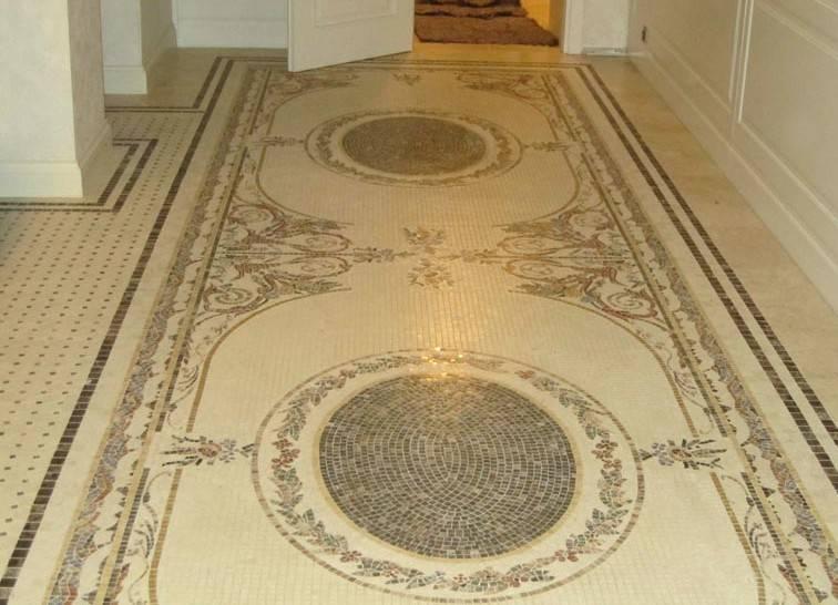 Панно из мозаики: оригинальные идеи украшения интерьера