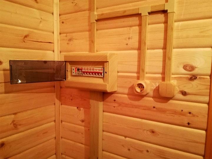 Электропроводка в бане своими руками - пошаговая инструкция