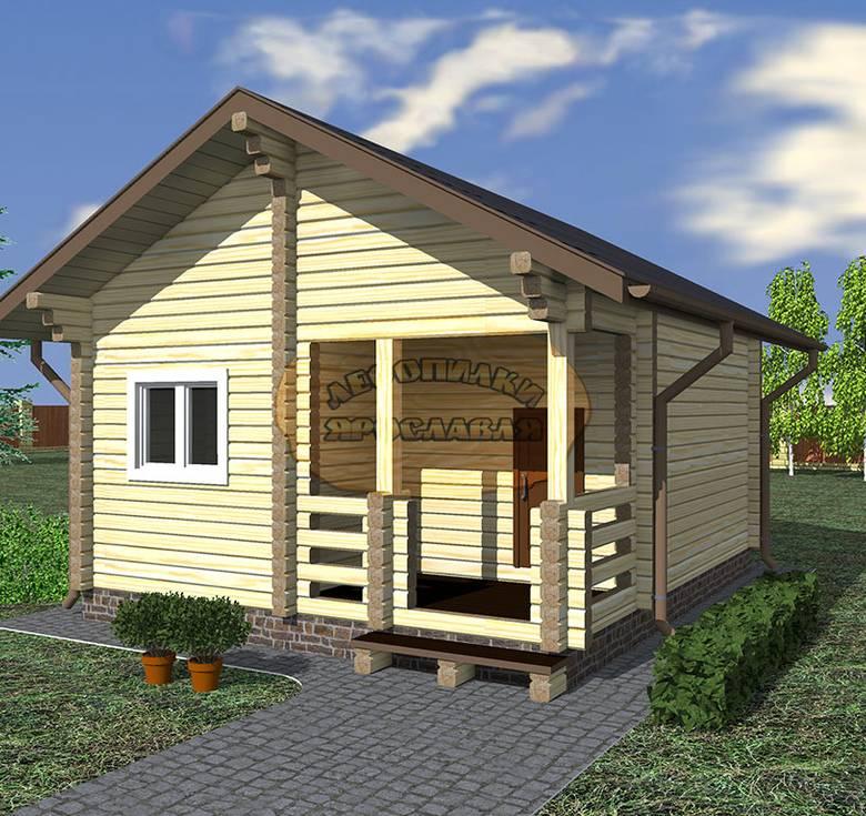 Строительство бани из бруса: от проекта до введения в эксплуатацию