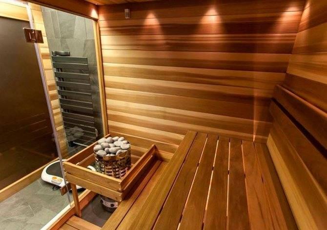 Строительство сауны в подвале частного дома: проекты
