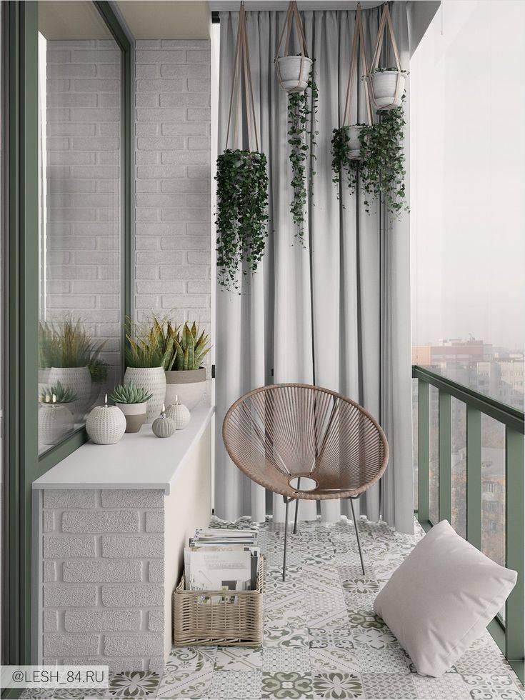 Балкон в скандинавском стиле – как оформить - 8 фото