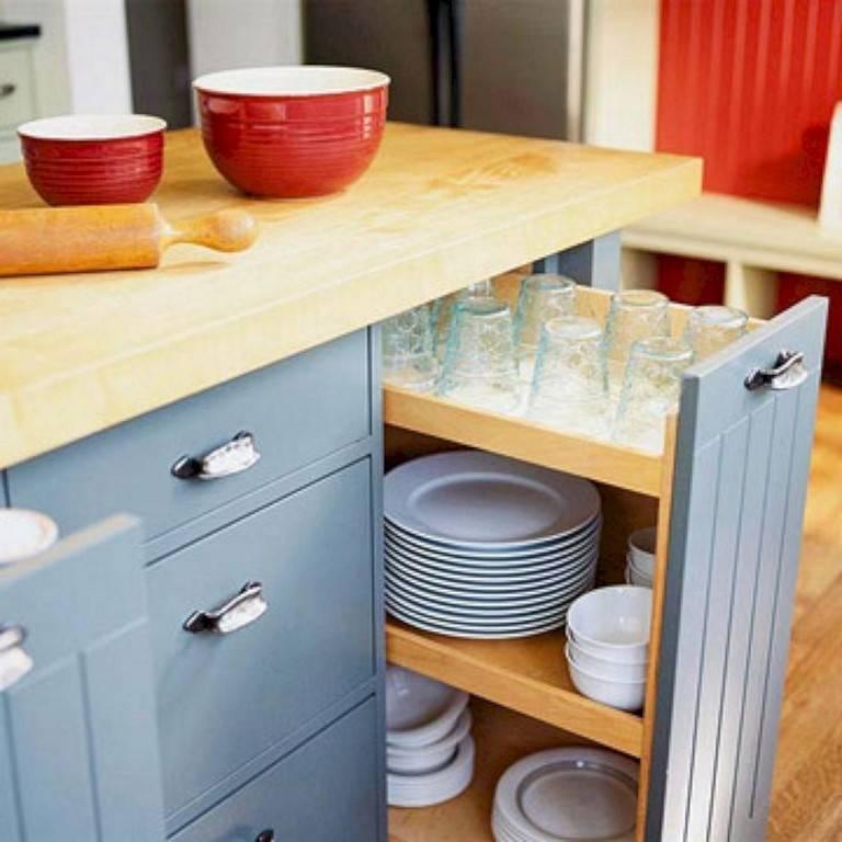 Умное хранение на кухне: 20 гениальных идей