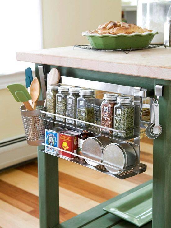 Умное хранение на кухне: 20 гениальных решений