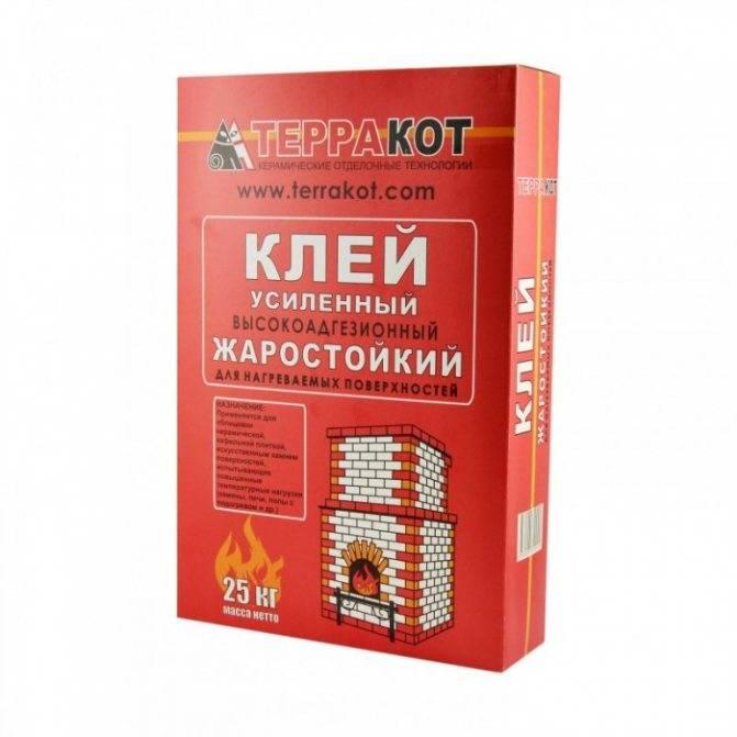 Термостойкий клей: высокотемпературный состав для печей и каминов, жаростойкий и огнеупорный клей для стекла и плитки